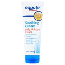 Equate Soothing Daily Moisture Cream, 8 Oz