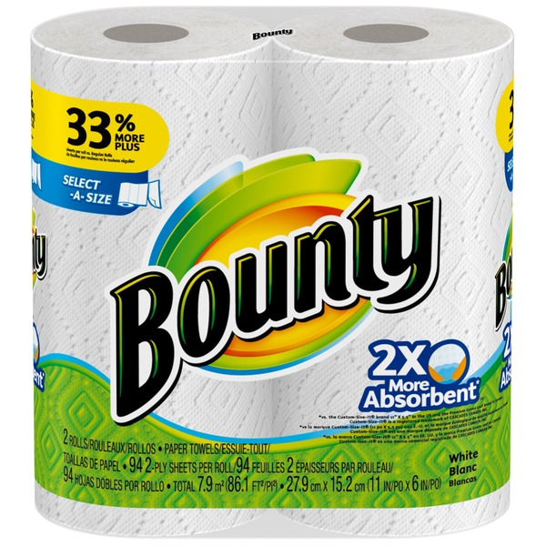 Bounty Basic Select-A-Size Paper Towels