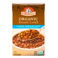 Dr. McDougall's Organic Lower Sodium Soup French Lentil