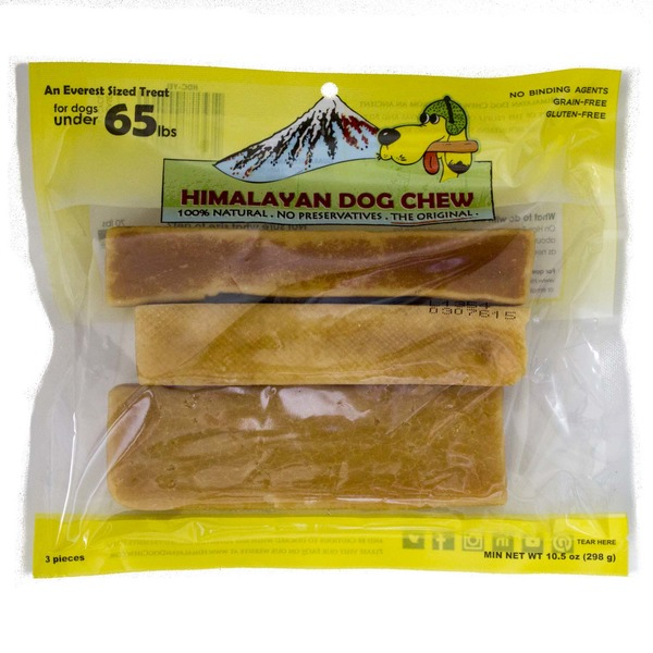 Himalayan Dog Chews 100% Natural An Everest Sized Treat for Dogs Under