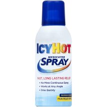 Icy Hot Medicated Pain Relief Spray, 4 fl oz