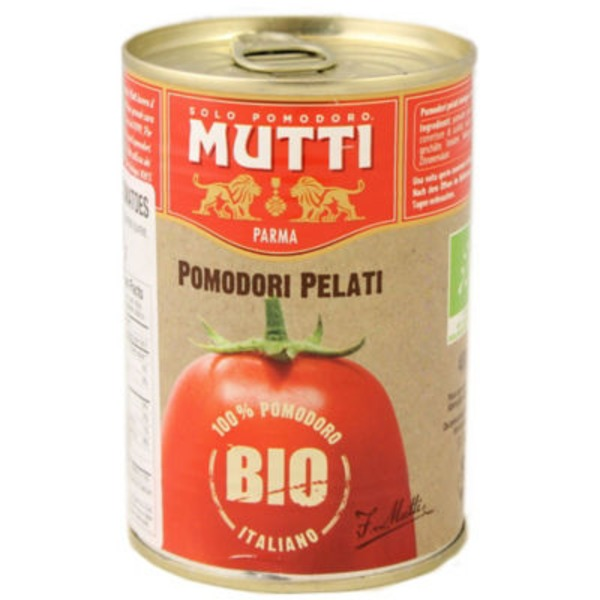 Mutti Organic Whole Peeled Tomatoes