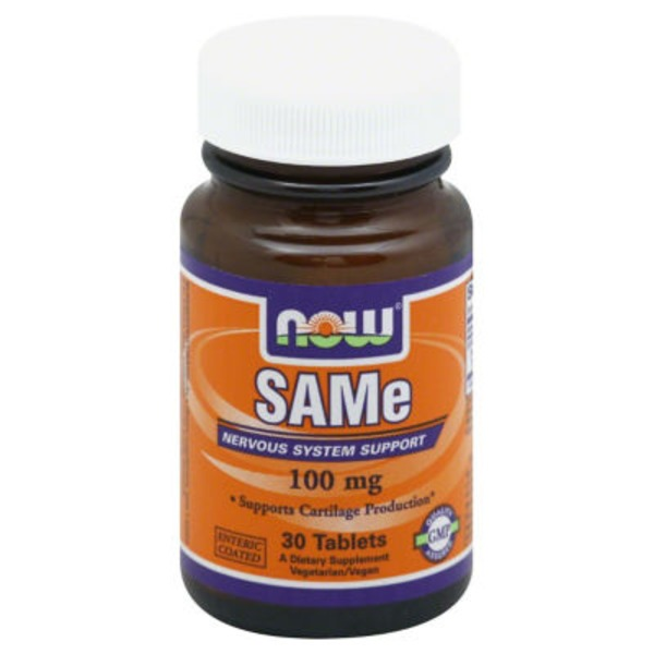 Now SAMe 100 mg Tablets