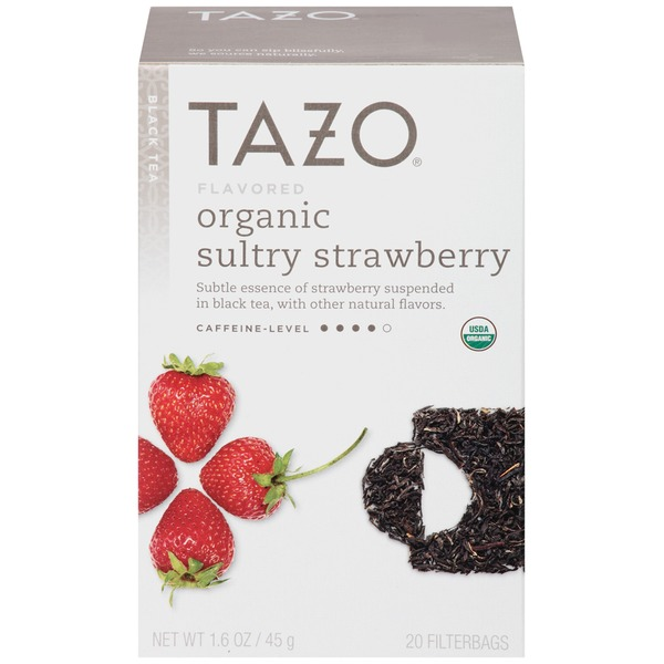 Tazo Tea Organic Sultry Strawberry Tea Bags