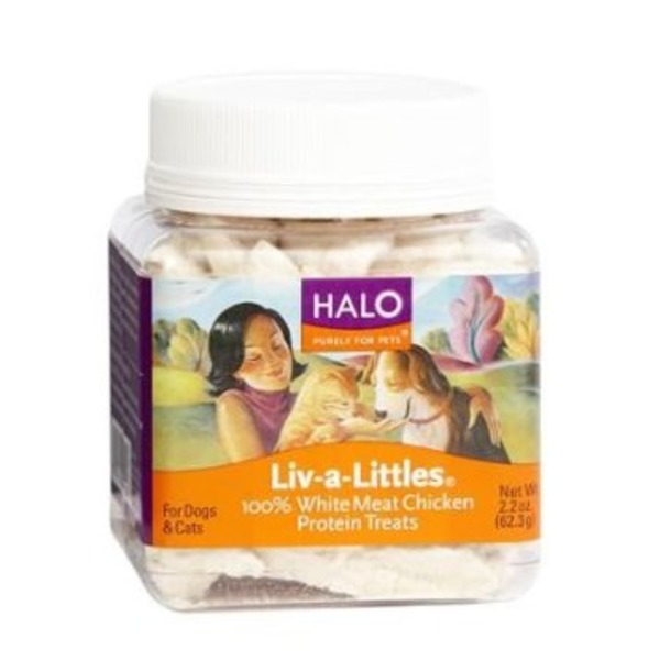 Halo Livalittle Treats Chicken 2.2 Oz