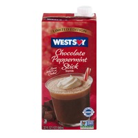 WestSoy Soymilk Chocolate Peppermint Stick