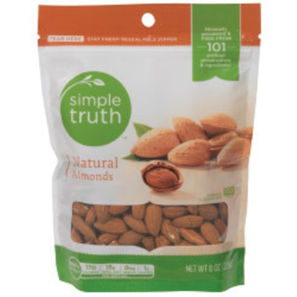 Simple Truth Organic Natural Almonds