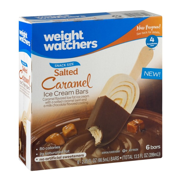 Weight Watchers Snack Size Salted Caramel Ice Cream Bars
