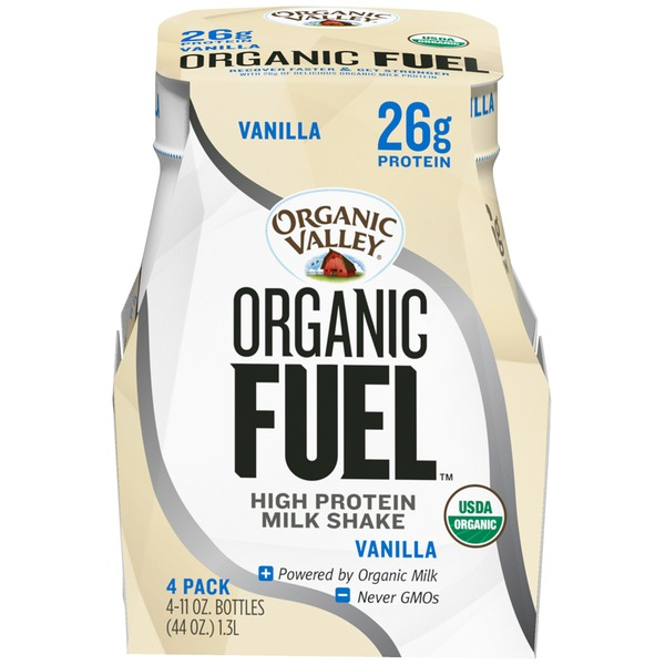 Organic Valley Fuel High Vanilla Protein Shake