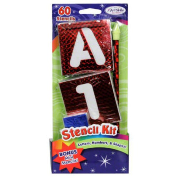 ArtSkills Stencil Kit - 60 CT