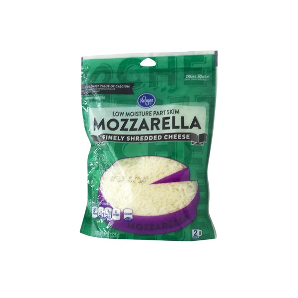 Kroger Finely Shredded Mozzarella