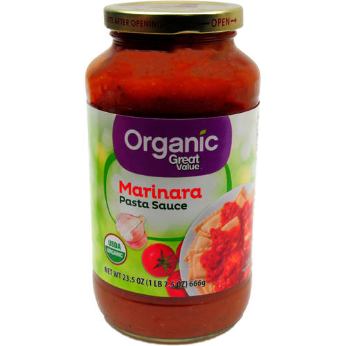 Great Value Organic Marinara Sauce