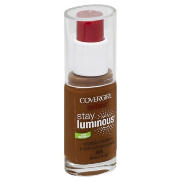 CoverGirl Outlast COVERGIRL Outlast Stay Luminous Foundation, Soft Sable 1 fl oz (30 ml) Female Cosmetics