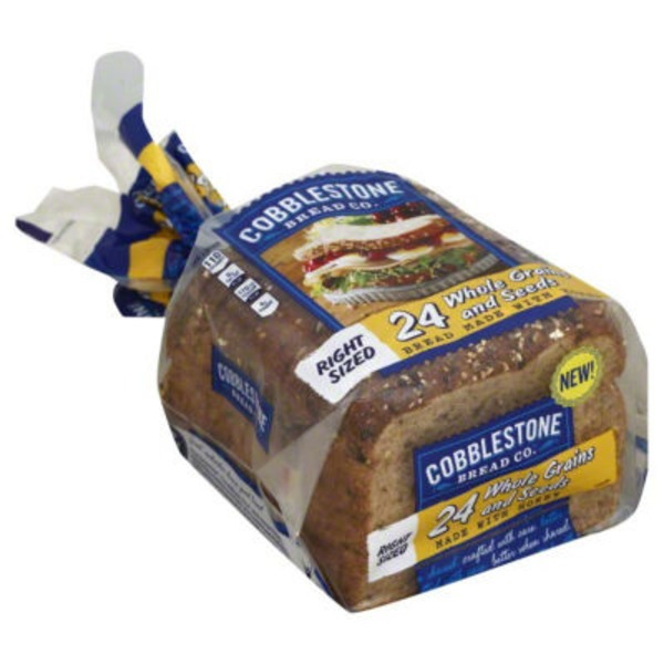 Cobblestone Mill 24 Whole Grains and Seeds Bread