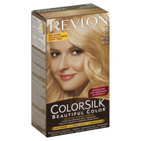 Revlon Permanent Color - Light Sun Blonde 95