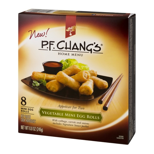 P.F. Chang's Mini Egg Rolls Vegetable - 8 CT