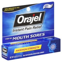 Orajel for All Mouth Sores Gel Oral Pain Reliever/Antiseptic/Astringent