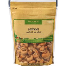 Hines Orchard Fresh Roasted & Sea Salted Cashews, 8 oz