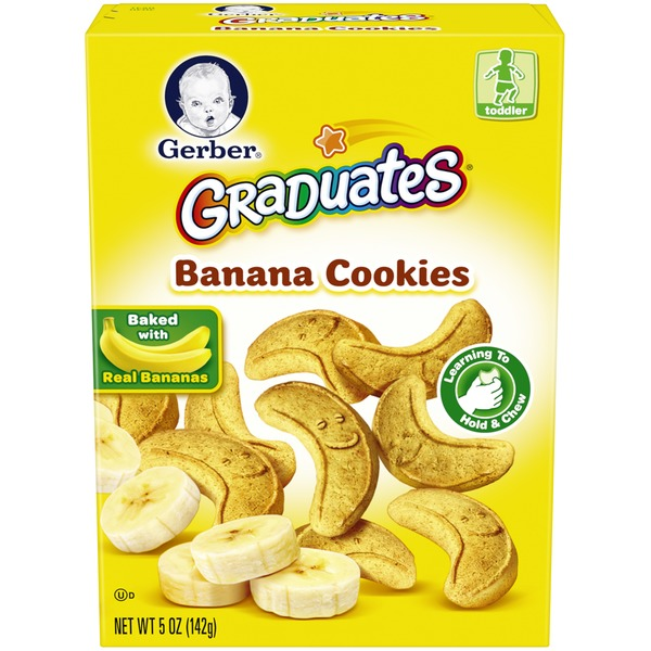 Gerber Graduates Cookies & Crackers Banana Cookies