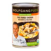 Wolfgang Puck Free Range Chicken with White & Wild Rice Organic Soup