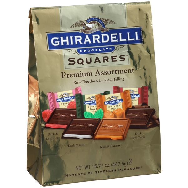 Ghirardelli Chocolate Squares Premium Assortment Chocolate