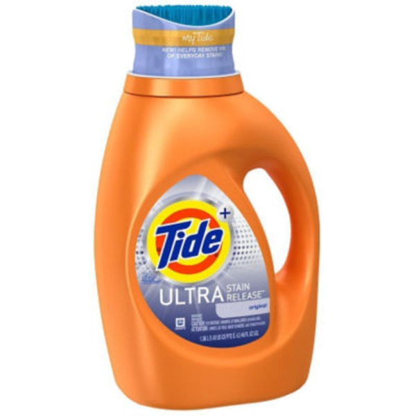 Tide HE Turbo Clean Ultra Stain Release Liquid Laundry Detergent