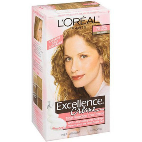 Excellence Creme 7G Dark Golden Blonde Hair Color