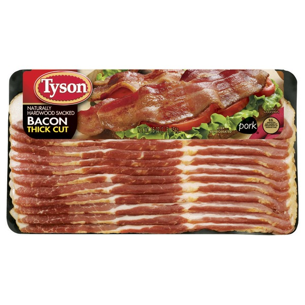 Tyson Bacon Thick Cut Bacon