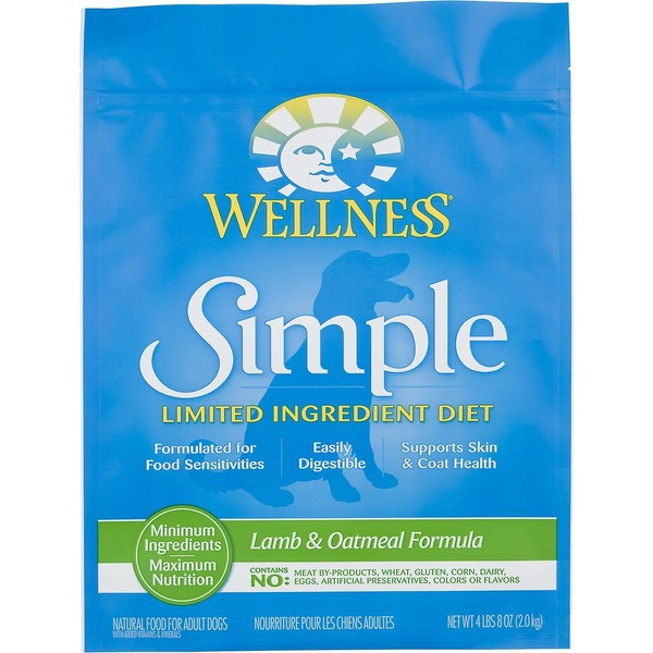 Wellness Simple Limited Ingredient Diet Lamb & Oatmeal Dry Dog Food
