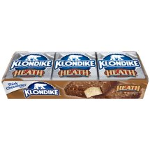 Klondike Heath English Toffee Bar 4 oz Ice Cream Bars, 6 ct