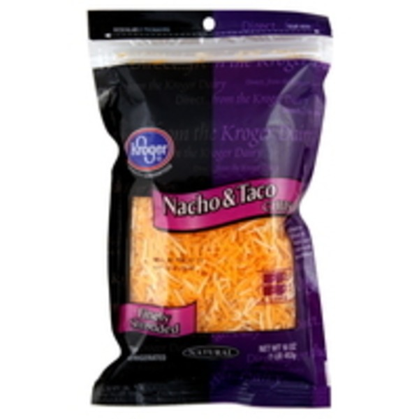 Kroger Nachos And Tacos Shredded Cheese