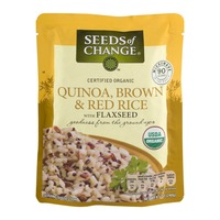 Seeds of Change Quinoa, Brown & Red Rice with Flaxseed