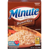 Minute Rice Instant Whole Grain Brown Rice
