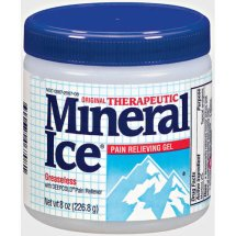 Mineral Ice, Therapeutic Pain Relieving Soothing Gel, 8 oz