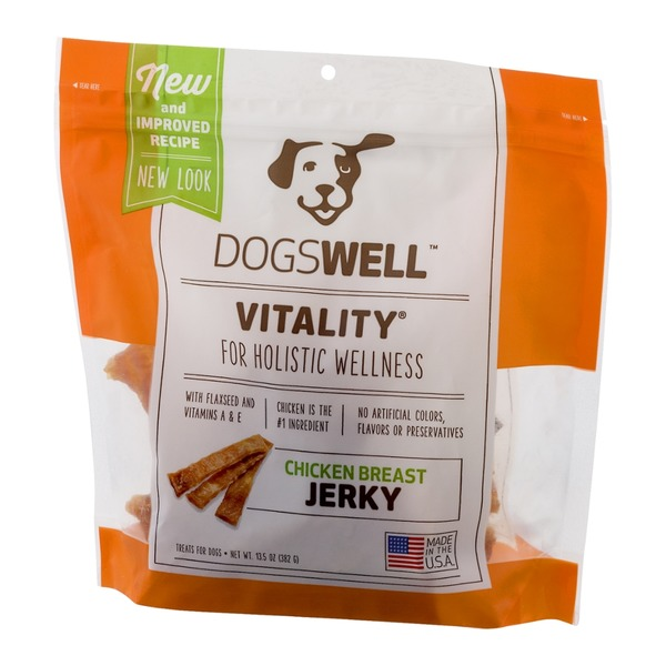 Dogswell Vitality Jerky Chicken Breast