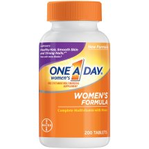 One A Day Women's Multivitamin Supplement Tablets, 200 Count