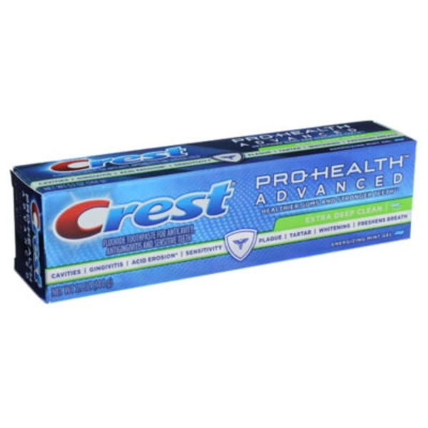Crest Advanced Cleaning Crest Pro-Health Advanced Extra Deep Clean Gel Toothpaste 5.1 oz. Dentifrice
