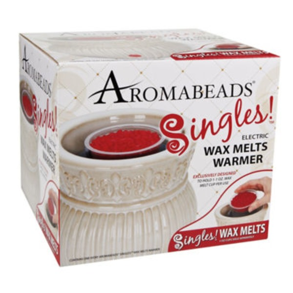 Aromabeads Singles Ivory Wax Melts Warmer