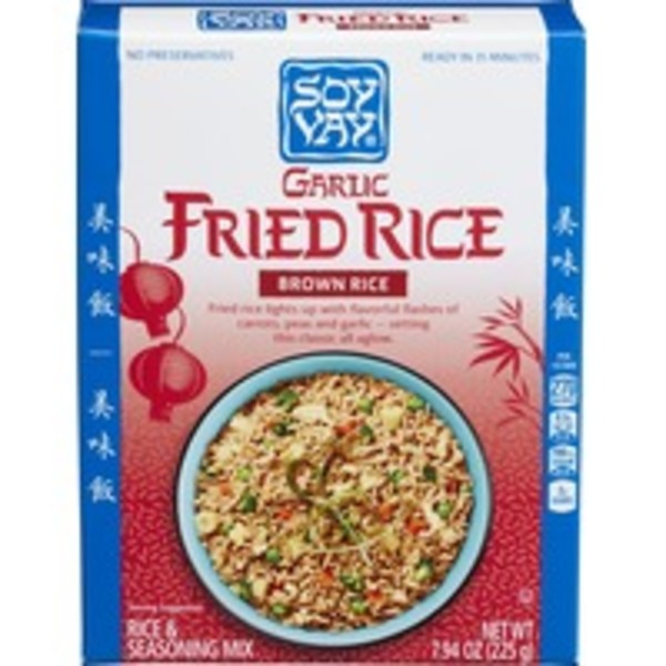 Soy Vay Garlic Fried Rice Mix