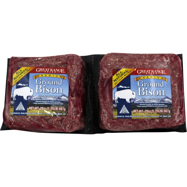 Ground Bison 90% Lean
