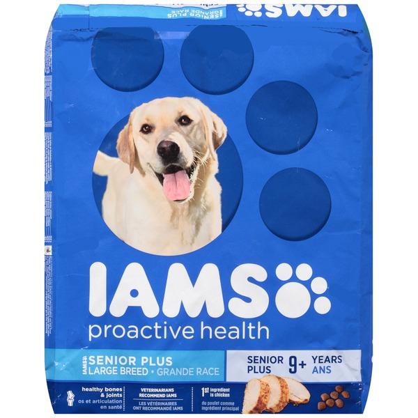 Iams ProActive Senior Plus Large Breed Dog Food