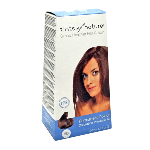Tints Of Nature Conditioning Permanent Hair Color 120 M Light Golden Brown 5D
