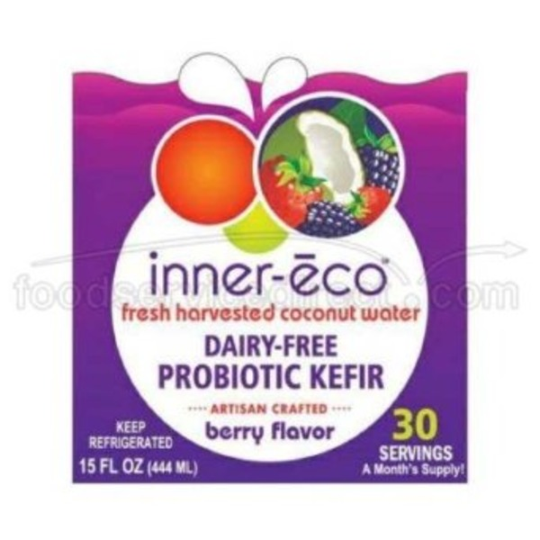 Inner Eco To Go Coconut Water Kefir Berry