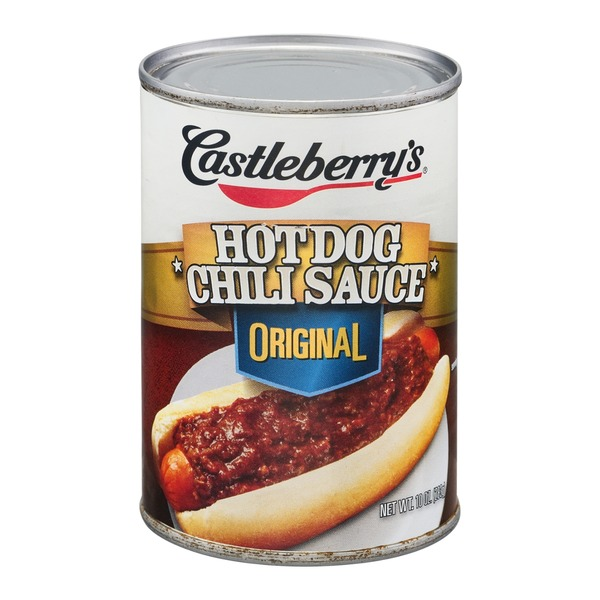Castleberry's Hot Dog Chili Sauce Original
