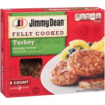 Jimmy Dean Turkey Sausage Patties - 8 CT