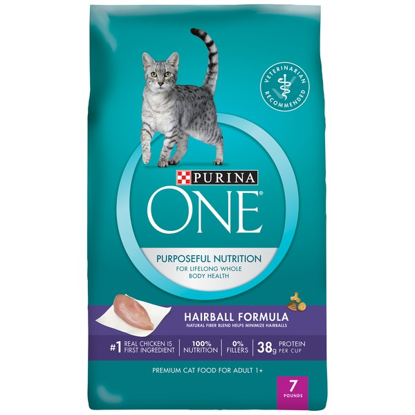 Purina One Cat Dry Adult Hairball Formula Cat Food