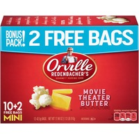 Orville Redenbacher's Movie Theater Butter Mini Bags Microwave Popcorn