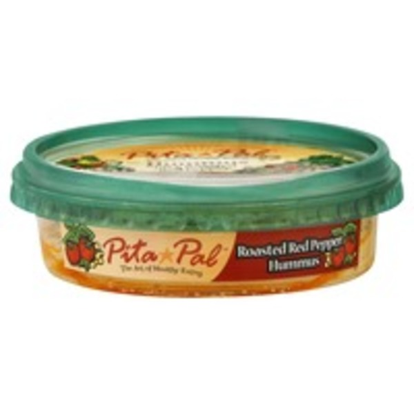 Pita Pals Roasted Red Pepper Hummus