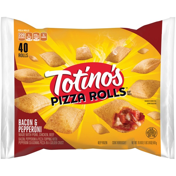 Totino's Bacon & Pepperoni Pizza Rolls
