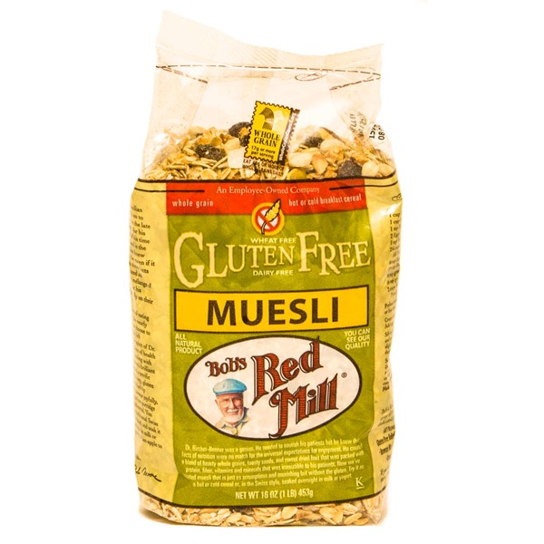 Bob's Red Mill Gluten Free Muesli Hot Or Cold Cereal European Style